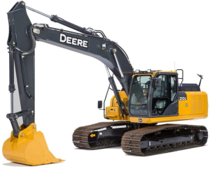 download john deere 210g, 210glc (pin: 1ff210gx__e520001-) it4/s3b excavator technical service repair manual tm12333