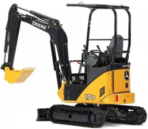 download john deere 17d compact excavator technical service repair manual tm10259