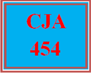 CJA 454 Week 1 Adjusting to Terrorism | eBooks | Education