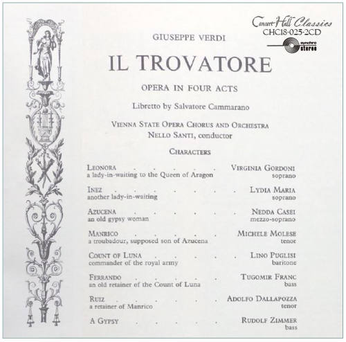 Third Additional product image for - Verdi: Il Trovatore