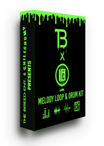the breed x chill shump melody loop & drum kit
