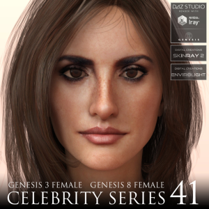 celebrity series 41 for genesis 3 and genesis 8 female