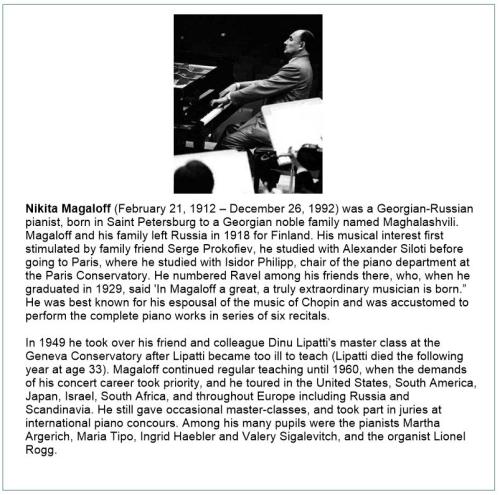 Second Additional product image for - Tchaikovsky: Piano Concerto No. 1 - Magaloff/Violin Concerto - Varga
