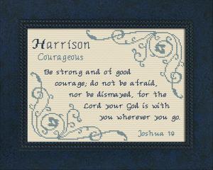 name blessings - harrison