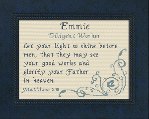 name blessings - emmie
