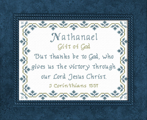 name blessings - nathanael