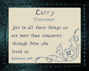 name blessings - larry 2