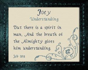 name blessings - joey