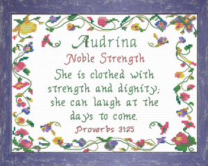 name blessings - audrina