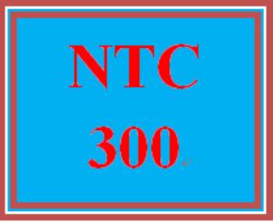 ntc 300 week 4 drotos engineering: cloud management