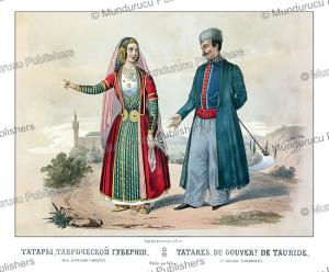 tartars of tauride (crimean peninsula), fr. knorre, 1850