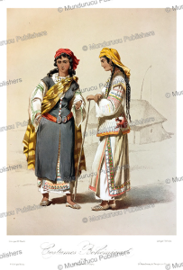 women from bohemia (czech), m. klodt, 1867