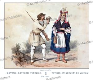 votyaks, fr. knorre, 1850