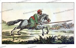 cossack, karel van plotho, 1814