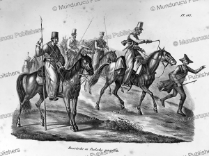 russian cavalry, h.r. schinz, 1845