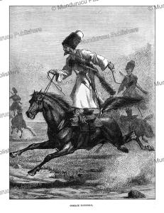 cossack horsemen, cassell, 1870