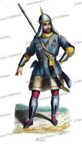 circassian warrior, doms, 1843