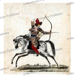 kalmyk archer, 1806