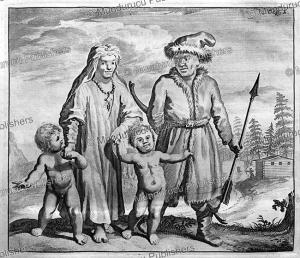 wogulski (wolga) tartars, ysbrants ides, 1705