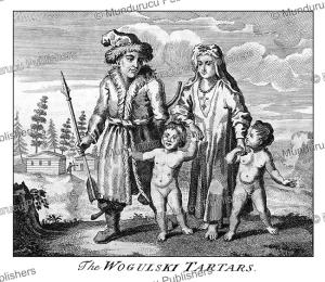 wogulski (wolga) tartars of siberia, john mottley, 1739