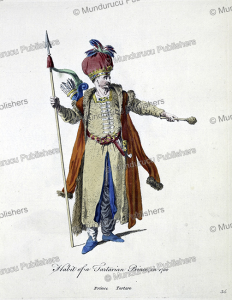 habit of the tartarian prince, in 1700
