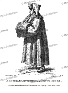 a russian gentleman in a winter dress, scorodomof, 1893
