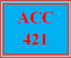 acc 421 week 1 wileyplus assignment: week 1 assignment (2019 new)