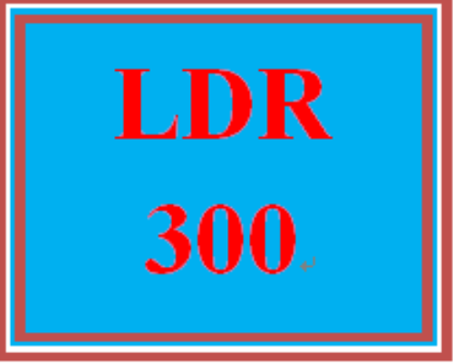 First Additional product image for - LDR 300 Wk 4 Discussion - Transformational Leadership