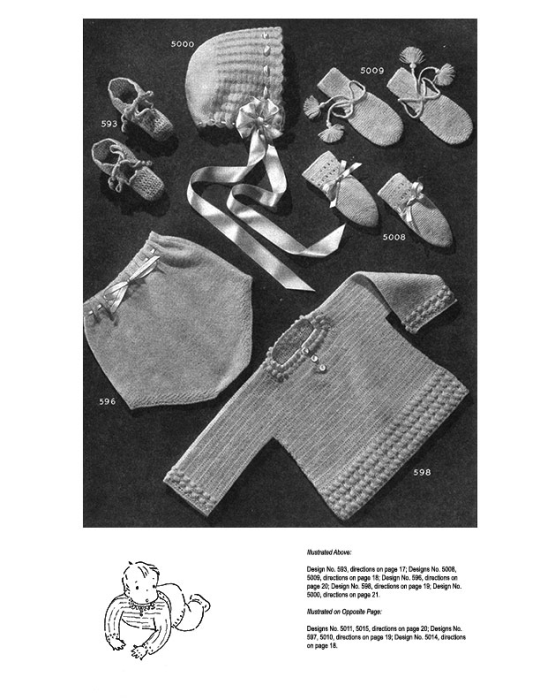 Second Additional product image for - Woolies for Babies | Book No. 119 | The Spool Cotton Company DIGITALLY RESTORED PDF