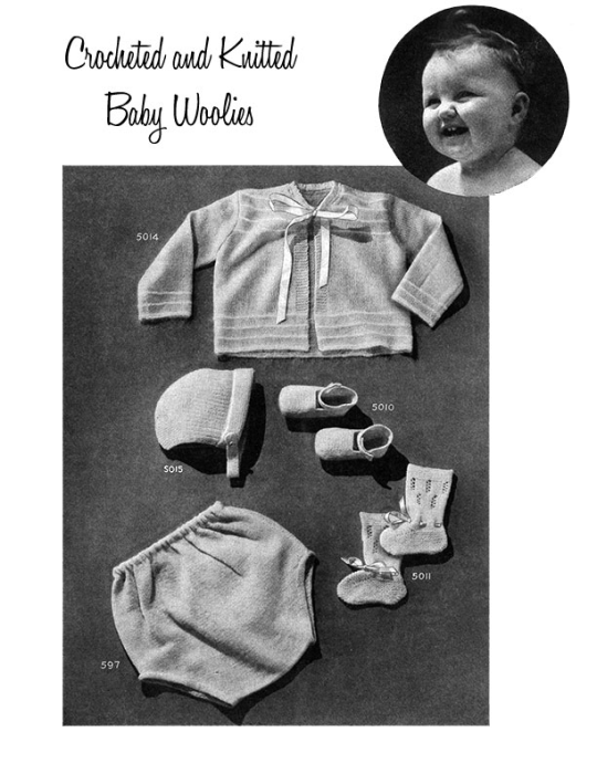 Third Additional product image for - Woolies for Babies | Book No. 119 | The Spool Cotton Company DIGITALLY RESTORED PDF