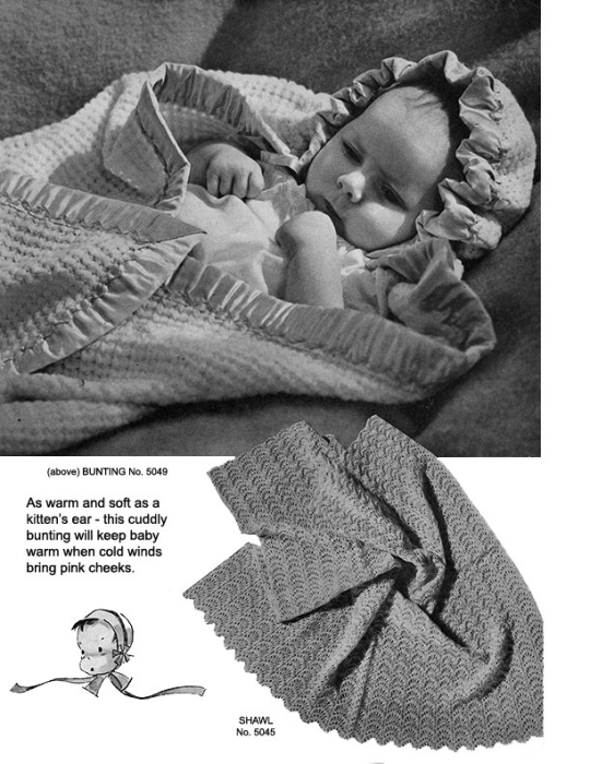 Third Additional product image for - Woolies for Infants | Book No. 138 | The Spool Cotton Company DIGITALLY RESTORED PDF
