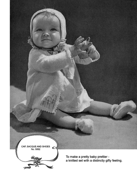 Fourth Additional product image for - Woolies for Infants | Book No. 138 | The Spool Cotton Company DIGITALLY RESTORED PDF