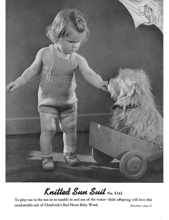First Additional product image for - Woolies for Babies | Book No. 178 | The Spool Cotton Company DIGITALLY RESTORED PDF