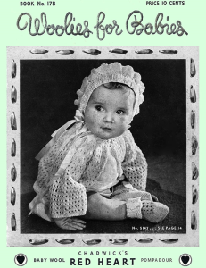 woolies for babies | book no. 178 | the spool cotton company digitally restored pdf