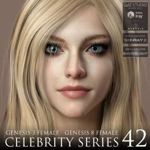 celebrity series 42 for genesis 3 and genesis 8 female