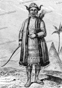 yakut woman, victor adam, 1861