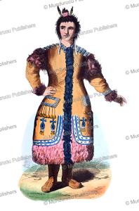 yakut woman, a. vangauberche, 1845