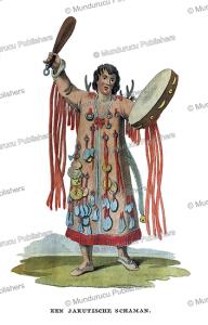 yakut shaman, gawrila sarytschew, 1808