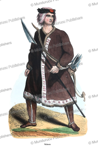 yakut man, doms, 1845