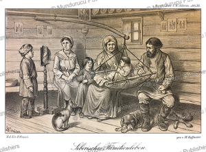 siberian family life, m. hoffmann, 1879