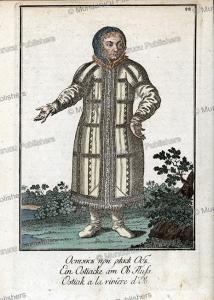 ostyak woman from the ob river in finland, johann gottlieb georgi, 1799