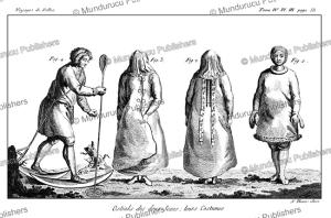 the two sexes of the ostyaks, simon pallas, 1776