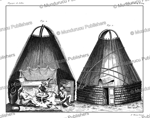 First Additional product image for - Ostyak tent, Simon Pallas, 1776