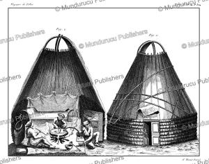 ostyak tent, simon pallas, 1776