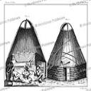 Ostyak tent, Simon Pallas, 1776 | Photos and Images | Travel