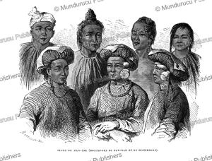 man-tse people, the original inhabitants of yunnan, bertrand, 1873