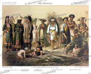 different people of the yunnan province, china, janet lange, 1873