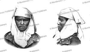 kyrgyz woman, siberia, otto finsch, 1879