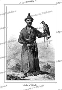 the sultan of kyrgyz, tartary, lemaitre, 1848