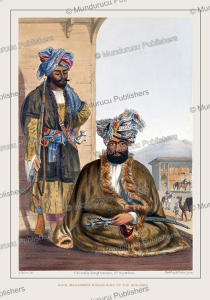 gool mahommed khaun king of the ghilgies, afghanistan, james rattray, 1848